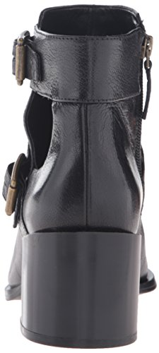 Nine West Women's Evalee Leather Ankle Bootie Black free shipping under $60 3bnCWY