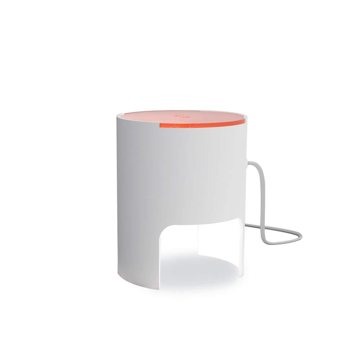 Martinelli Luce 804/BI/AR Civetta-Lámpara de mesa de aluminio y de ...