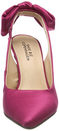 Shoe Heloise Pink Light Escarpins Rose Satin Biz Femme ppwRxqBr