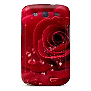 Awesome Design Rose Widescreen Hard Case Cover For Galaxy S3
