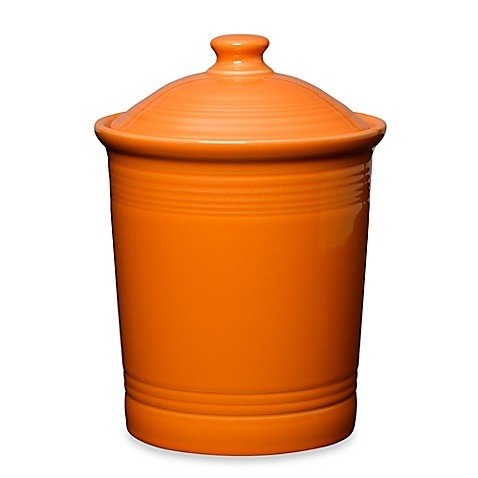 'Fiesta Tangerine 573 3-Quart Large Canister' from the web at 'https://images-na.ssl-images-amazon.com/images/I/41JqMh3WwpL.jpg'