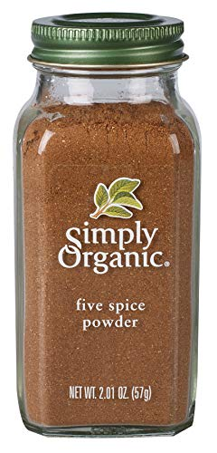 Simply Organic Five Spice Powder, 2.01 Ounce - Spice Seasoning Chinese Five