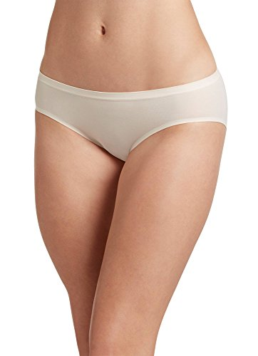 (Jockey Women's Underwear Air Seamfree Bikini, Sheer Nude, 6 )
