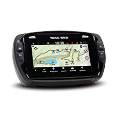 Trail Tech Voyager Pro, the Connected Rider's map screen is enabled with base maps, topography lines, hill shading, and trails. Record or load GPX trails and riding areas, and transfer to a PC using the Micro SD card. Voyager Pro comes loaded...