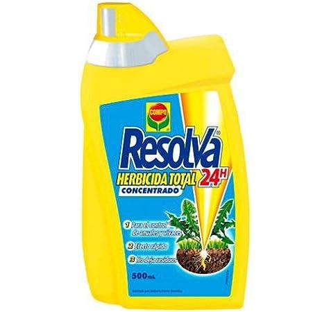 Compo Herbicida total Resolva 24h 500 ml: Amazon.es: Jardín