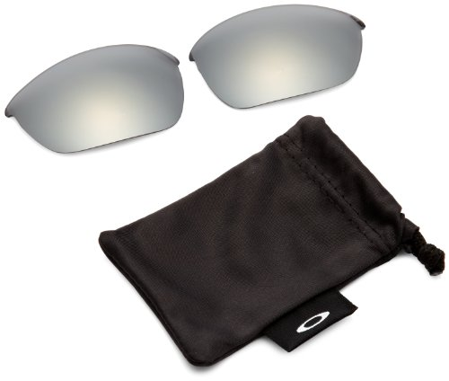 Oakley Half Jacket 2.0 Adult Replacement Lens Sunglass Accessories - Black Iridium