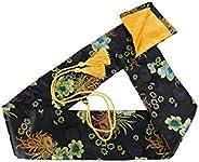 MAKOTO Silk Sword Bag for Japanese Katana, Wakizashi and Chinese Tai Chi Swords