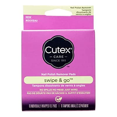 Cutex Swipe and Go Nail Polish Remover Pads (Pack of 2)