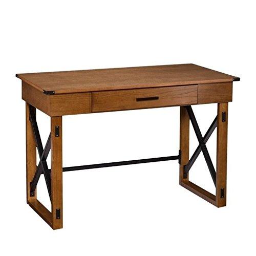 Southern Enterprises Canton Lift-Top Desk in Brown