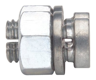Gallagher North America G605 Electric Fence Split Bolt Wire Connector, 5- Pk. - Quantity 50