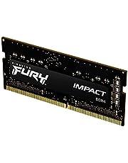 Kingston Fury Impact 16GB 2933Mhz DDR4 CL17 SODIMM Memoria Gamer Para LAPTOP Color Negro (KF429S17IB/16)
