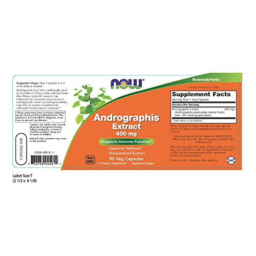 Buy andrographis paniculata capsules