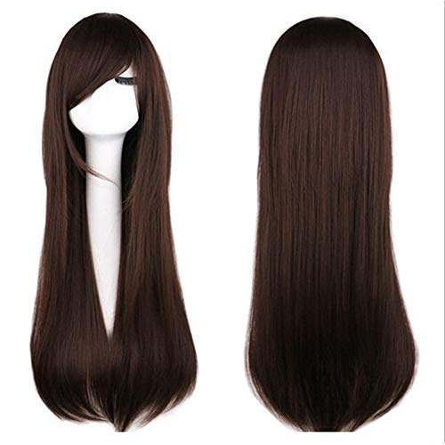 Halloween Long Straight Hair Cosplay Ghost Sadako Grudge Vampire Bride Festival Party Show Celebration Wig … ()