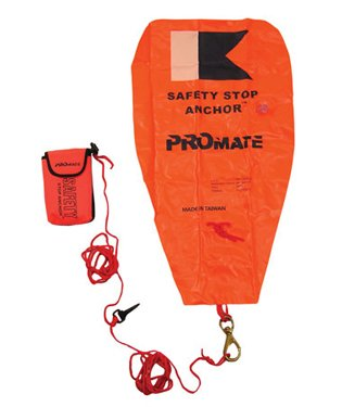 (Promate Safety Stop Anchor Safety Signal and Lift Bag Buoy)
