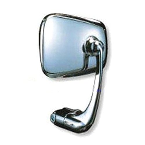 Napoleon Mirrors AP-101 Bar End Baren Replacement Mirror with Chrome Finish