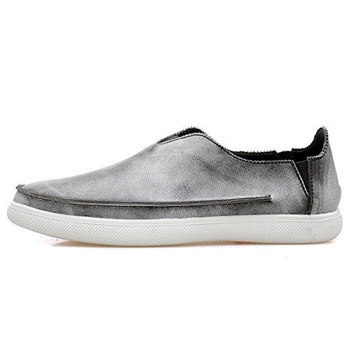 Miyoopark - zapatilla baja hombre Style1-Grey