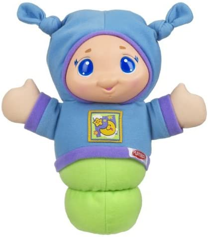 Frustration-Free Packaging Playskool Gloworm Snooze Sleep Aid for Babies with Music and Soft Light
