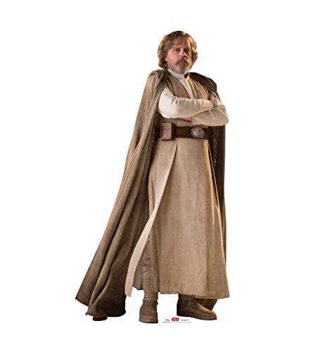 Luke Skywalker - Star Wars: Episode VIII - The Last Jedi (2017 Film) - Advanced Graphics Life Size Cardboard (Cardboard Star Wars)