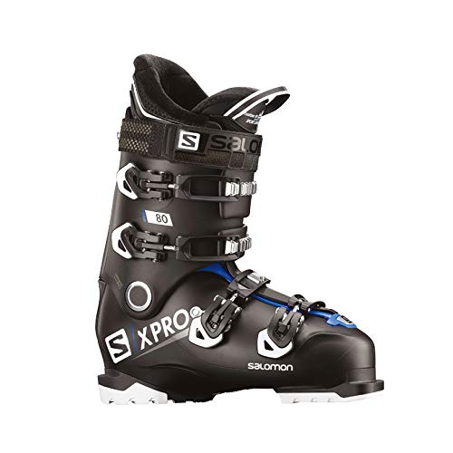 Salomon X-Pro 80 Ski Boots 2019-28.5/Black-Race Blue-White