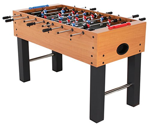 American Legend Charger 52' Foosball Table with Abacus-Style Scoring and Internal Ball Return System