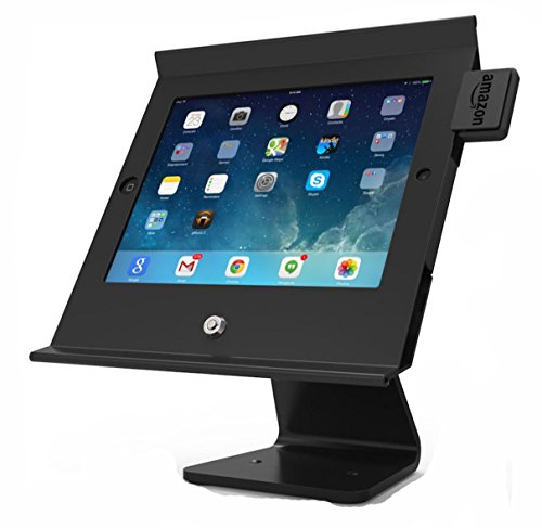 Maclocks iPad mini Slide Pro POS Table Top Kiosk (303B250MPOSB) by Compulocks