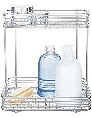 InterDesign Classico Towel Holder with Shelf for Bathroom - Wall Mount