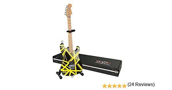 Guitarra en miniatura EVH evh002 Mini guitarra réplica Van Halen ...
