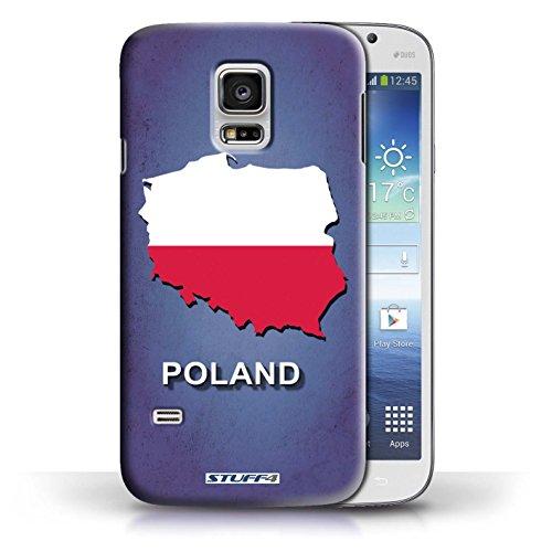 Kobalt® Imprimé Etui / Coque pour Samsung Galaxy S5 Mini / Pologne/Polonais conception / Série Drapeau Pays