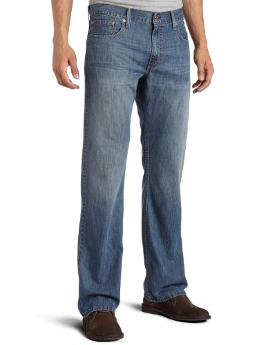 Levi's Men's 527 Low Rise Boot Cut Jean, Medium Chipped, 30X30 (Levis Loose Boot)