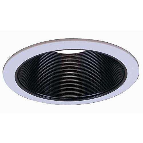 6 In. R30 Black Baffle Trim (6-Pack)-Commercial Electric-CAT610-6PK