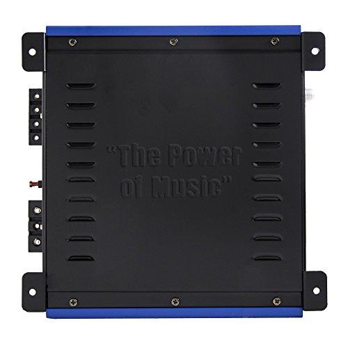 Crunch PowerDriveX 1000W 2 Channel Blue A/B Car Amplifier + 4-Gauge Wiring Kit by Crunch (Image #6)