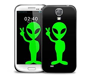 Alien Green Samsung Galaxy S4 GS4 protective phone case