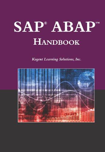 Download SAP® ABAPTM Handbook (The Jones and Bartlett Publishers Sap Book Series) Pdf