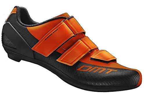 Anteprima 2016 Scarpe da Strada DMT R6 Suola compatibile con tacchette tre fori - scegli colore e taglia. (ARANCIO FLUO, 45)