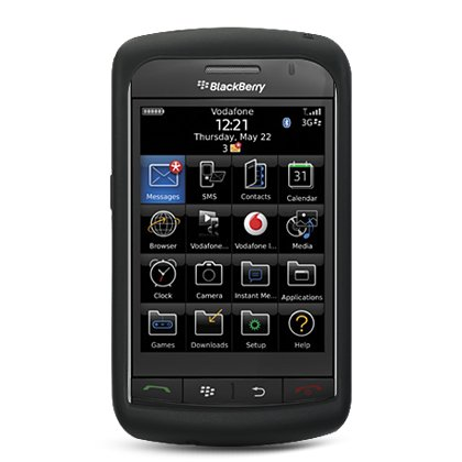 BlackBerry Storm 9530/9500 Silicon Skin Cover Case (Black) ()
