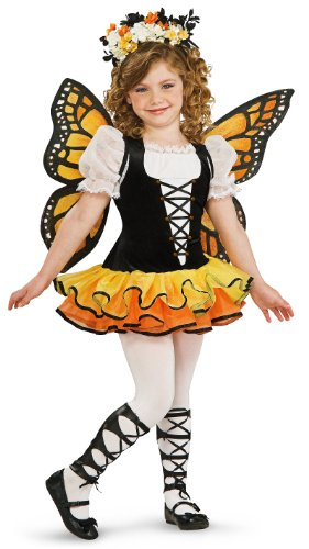 [Monarch Butterfly Child Costume Size Large (12/14)] (Trick Or Treat Costumes For Kids)