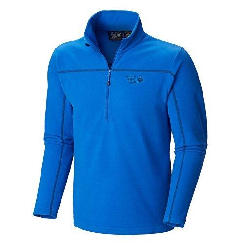 Mens Microchill Zip - Mountain Hardwear Microchill Zip T Collegiate Navy/Azul S