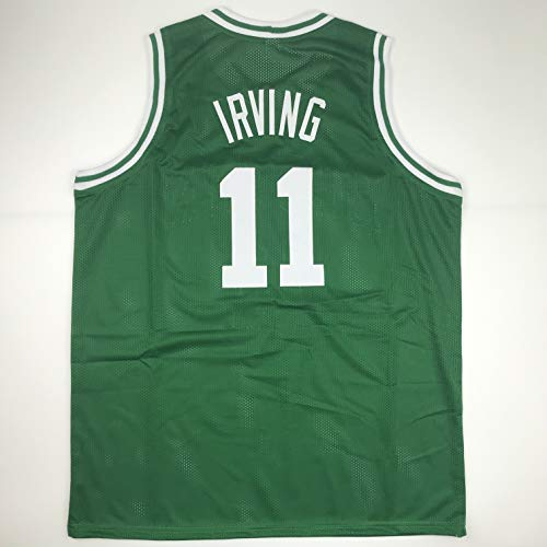 - Unsigned Kyrie Irving Boston Green Custom Stitched Basketball Jersey Size Men's XL New No Brands/Logos