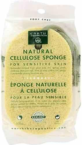 Earth Therapeutics Natural Cellulose Sponge - 6 per case.