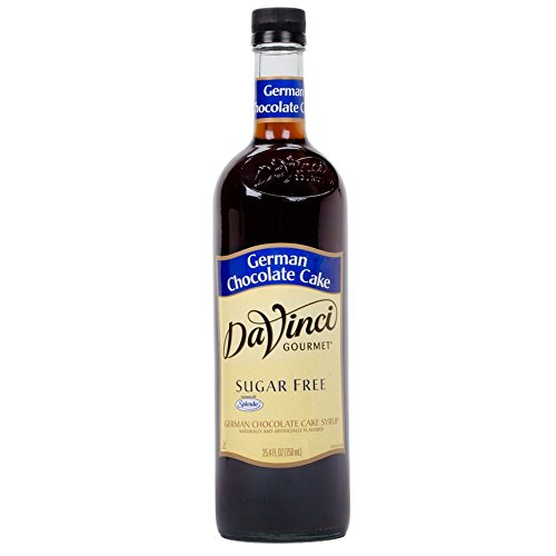 Da Vinci Sugar Free German Chocolate Cake Syrup, 750ml ()