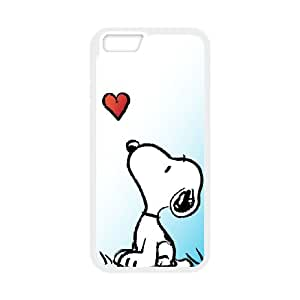 iPhone 6 Plus 5.5 Inch Cell Phone Case White Snoopy 001 HIV6755169557370
