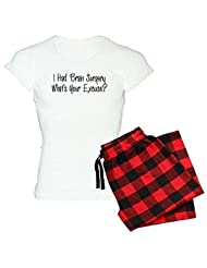 CafePress Women's Light Pajamas - I had brain surgery whats your excuse Pajamas