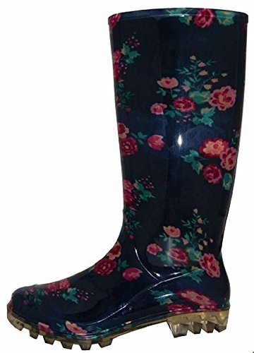 Rose Navy Shoes Mini Rain 18 Boot Classic Womens qAUz0