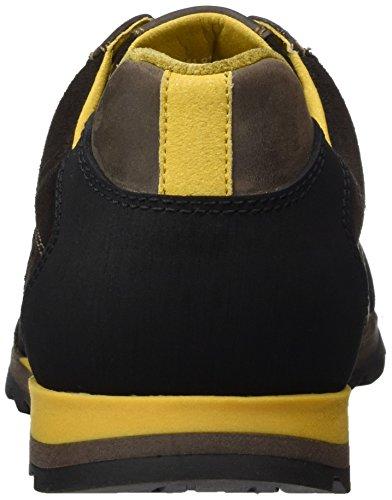 camel active Speed 11, Zapatillas para Hombre Marrón (mocca/ebony/black 01)