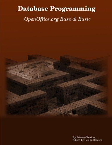 Database Programming With Openoffice Org Base   Basic