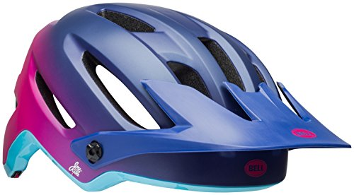 Bell Hela Joy Ride Bike Helmet - Women's Matte/Gloss Navy/Cherry Fibers Medium