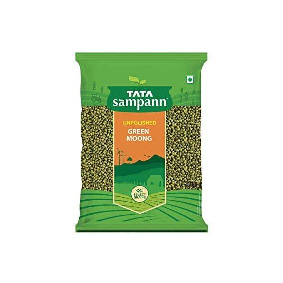 Tata Sampann Green Moong, 500g