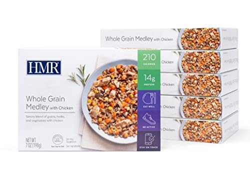 HMR Whole Grain Medley with Chicken Entree, 7 oz. Servings, 6 Count