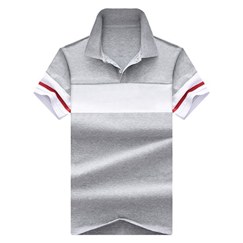 LANSI(レンシー)ポロシャツ メンズ 半袖 ワンポイント カジュアル ゴルフ ウェア スポーツ 鹿の子 通気性 薄手 吸汗速乾 夏 ビジネス メンズファッション