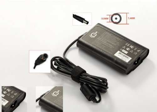 Intocircuit® AC Adapter Laptop Charger for Dell PA-10 90W 19.5V 4.62A 7.4x5.0mm adaptor Power Supply Cord